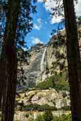 Photo of Upper Yosemite Falls from the Fairy Circle