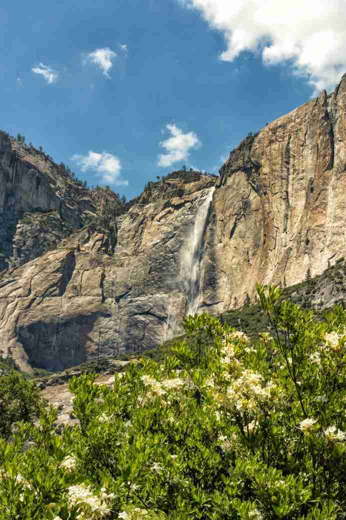 Photo of Upper Yosemite Falls During Spring