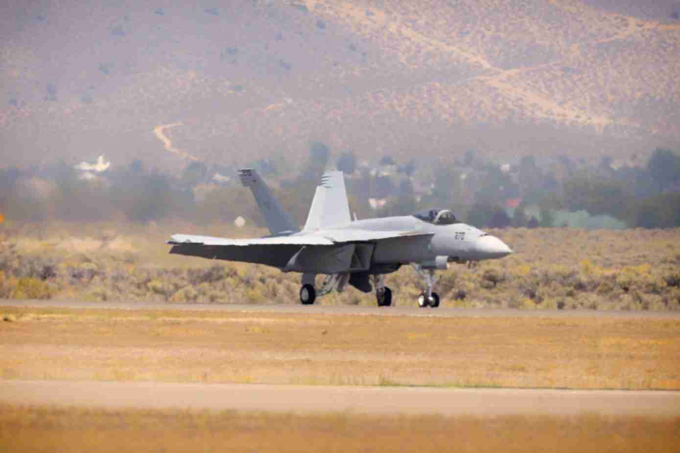 F/A-18 Super Hornet Taxiing